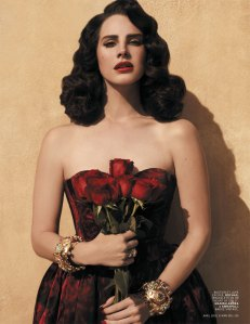 "Lana Del Rey | ""Young & Beautiful"" Video + L'officiel Paris April 2013 Cover Shoot."