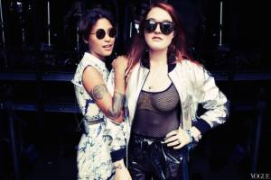 "Icona Pop + Zebra Katz | ""My Party""."